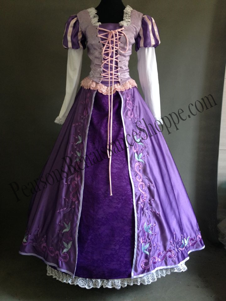 & Disney Tangled Rapunzel Embroidered Dress