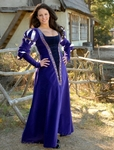 Dominate Halloween with a Purple Renaissance Dress
