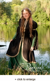 Forest Princess Overcoat