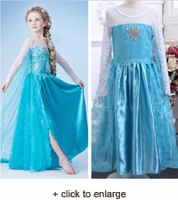Snow Queen Elsa Children's Dress