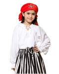 Girls Pirate Blouse