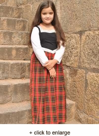 Girls Scottish Highland Dress