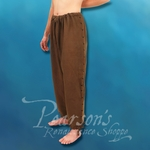 Hand-Woven, Hand-Stitched Men's Drawstring Pants