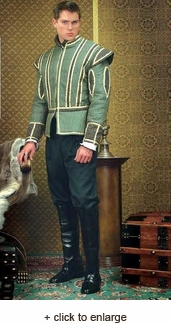 King Henry Green Doublet