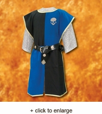 Knightly Tabard with Embroidered Crest