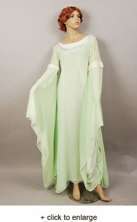 Lord of the Rings Arwen Light Green Dress