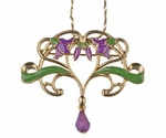 Lotus Flower Vine Pendant
