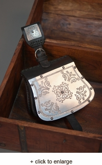 Medieval Bag with Etched Steel
