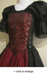 Medieval Cross Bodice