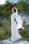 Medieval Flax Linen Archeress Chemise