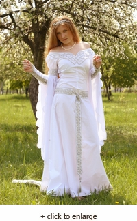 Medieval Isolde Wedding Dress