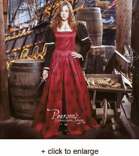 Milady De Winter Jacquard Dress