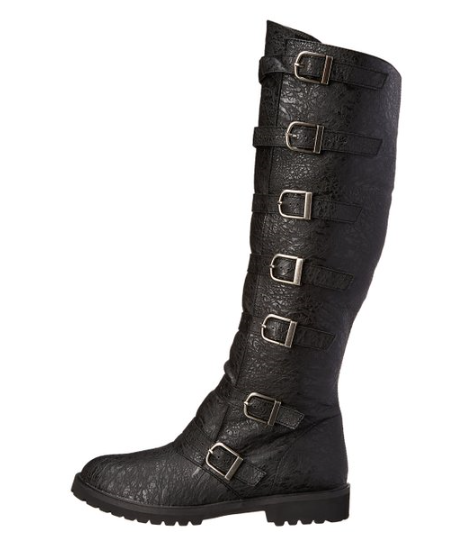fashion style of 2019 new arrivals look good shoes sale Multi-Buckle Knee High Boots