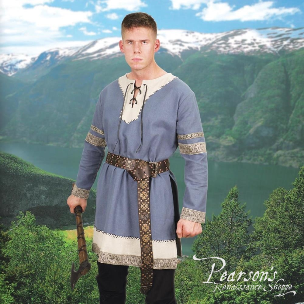 MEDIEVAL KNIGHT FANTASY VIKING NORSEMAN ELVEN Mens All Period SHIRT TUNIC New