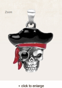 Pirate Captain Pendant