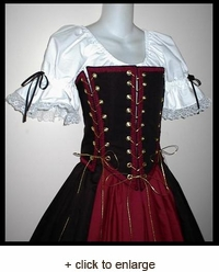 Pirate Maiden 4-Tie Bodice