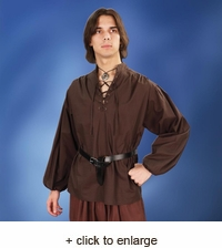 Privateer Period Cotton Shirt
