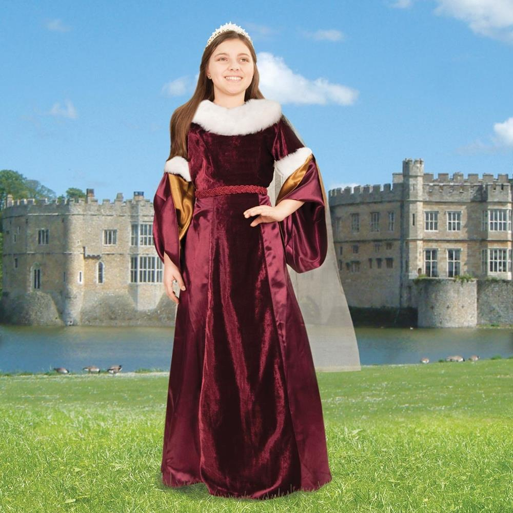 Queen Guinevere Gown for Children