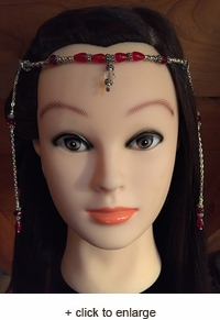 Ruby Lord of the Rings Circlet