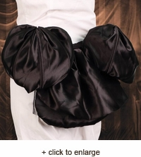 Satin Bustle - Adjustable