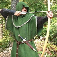 Save Maid Marian in an Authentic Robin Hood Outfit