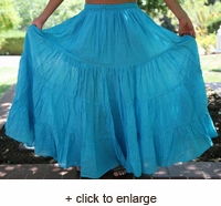 Seven Yard Gypsy Skirt