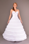 Six Ring Hoop Skirt