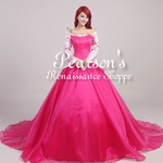 Sleeping Beauty Princess Aurora Multilayer Tulle Dress