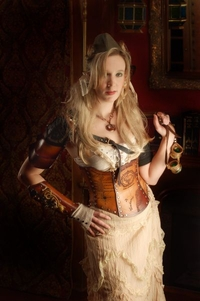 Steampunk Leather Corset: A Fashion Find for the Ages