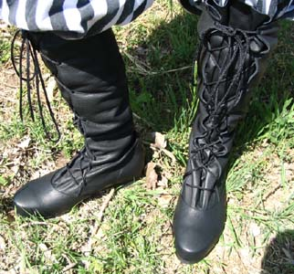 Strider Boot Renaissance Medieval Clothing Costumes