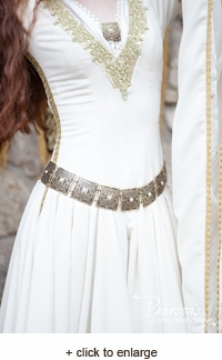 """The Accolade"" Women's Brass Belt"