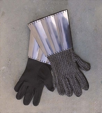 Throw Down Medieval Gauntlets