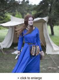 "Viking Dress ""Ingrid the Hearthkeeper"""