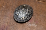 Viking's Brass Oval Brooches