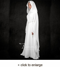 White Robe With Hood