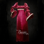 Wine Red Satin Dress