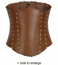 Woodland Tree Bark Corset