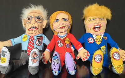 2016 Presidential Parody Dog Toy - Bernie