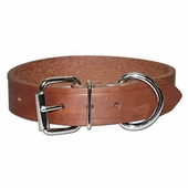 Bully Leather Dog Collar