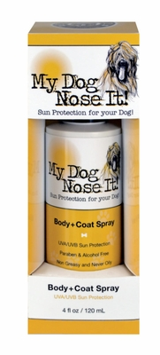 Dog UVA/UVB Sun Protection Body Spray