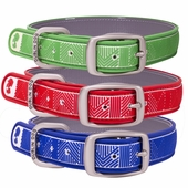Dublin Dog Waterproof Collars - Chevron