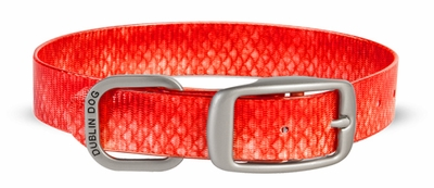 Dublin Dog KOA Collar - Red Snapper