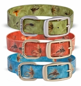 Waterproof dog collars no smell dog collars bright for Fish dog collar