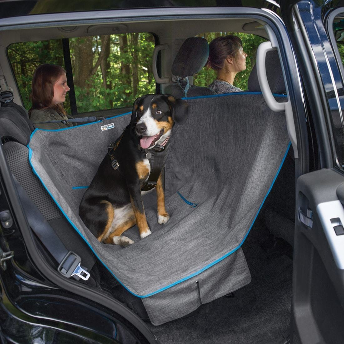 hammock black seat car dogs option for split rear cover pin dog regular