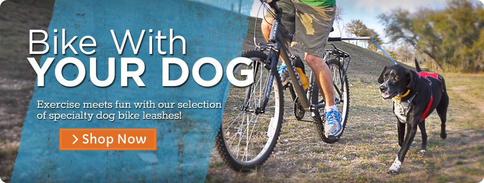 Dog Bike Leashes
