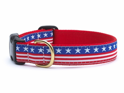 Stars and Stripes - American Made Dog Collar