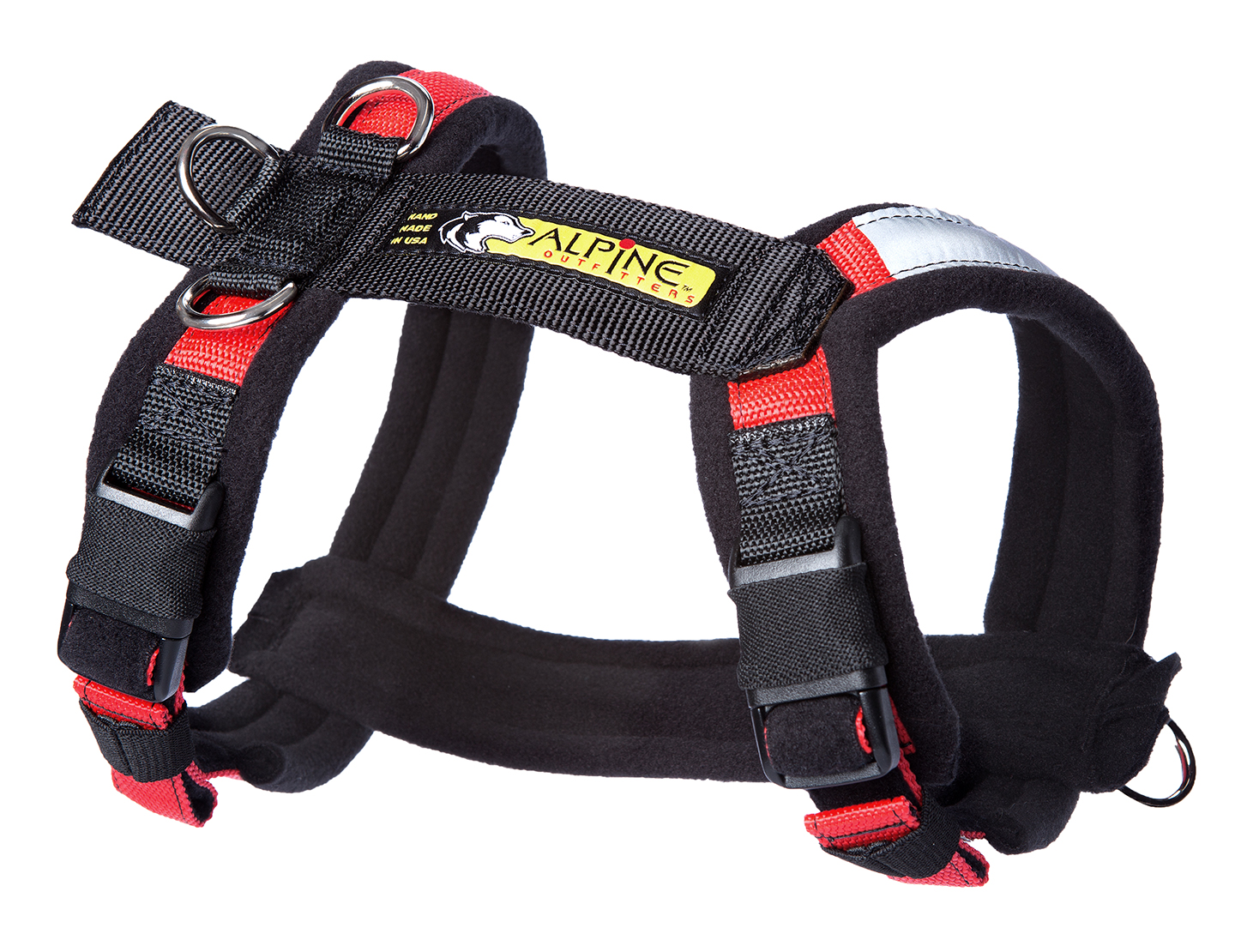 trail dog harness urban trail dog harness with side rings | fleece padded harness straps for comfort while biking yerf dog gy6 wiring harness diagram #3