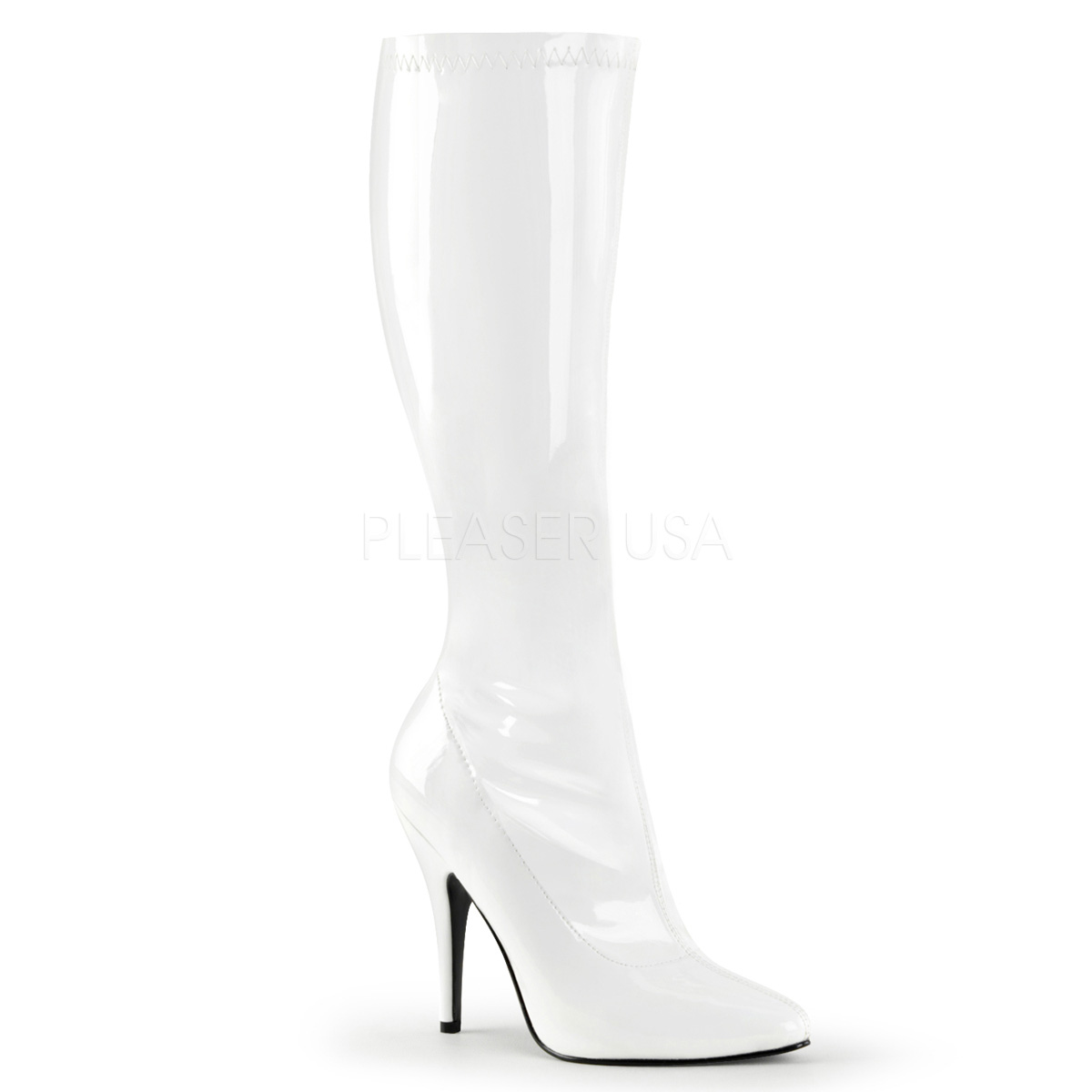 f385064ebe2 Pleaser Seduce-2000 Stretch Knee High Boot