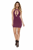 Clubwear Holster Cutout Mini Dress