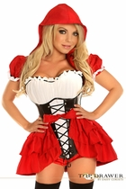 Daisy TD-111 Top Drawer 3 PC Red Riding Hood Costume